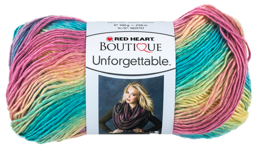 Red Heart Unforgettable 3965 - Candied