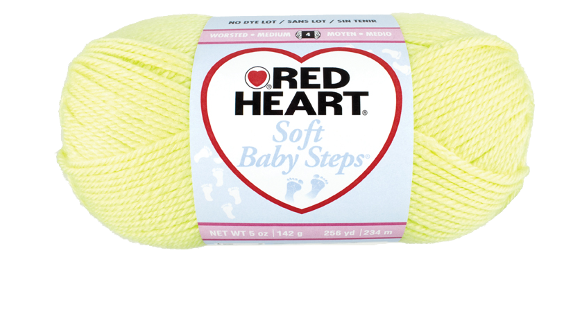 Red Heart Soft Baby Steps - 2 - sárga