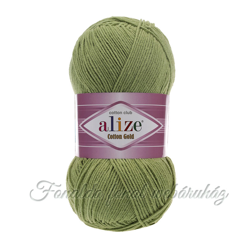 Alize Cotton Gold fonal - 385 - zöld
