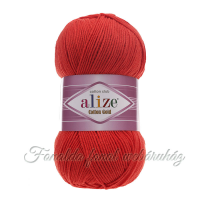 Alize Cotton Gold fonal - 243 - piros