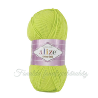 Alize Cotton Gold fonal - 612 - Neon zöld