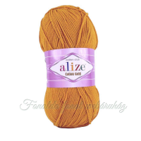 Alize Cotton Gold fonal - 02 - Sáfrány