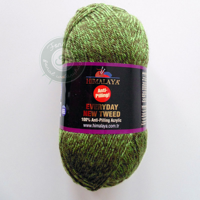 HiMALAYA Everyday New Tweed fonal - 75106 - Zöld