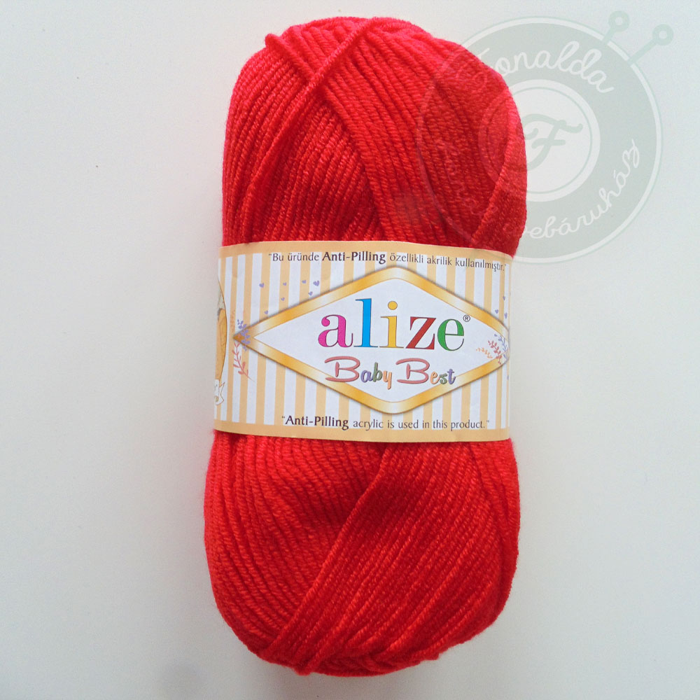 Alize Baby Best babafonal - 056 - Piros