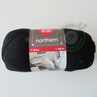 Red Heart Northern - 8206 - Fekete