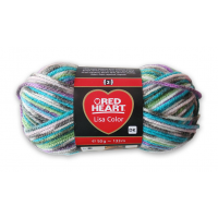 Red Heart Lisa fonal - 2083 - Mineral jackuard