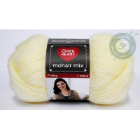 Red Heart Mohair Mix - 0256 - Krém