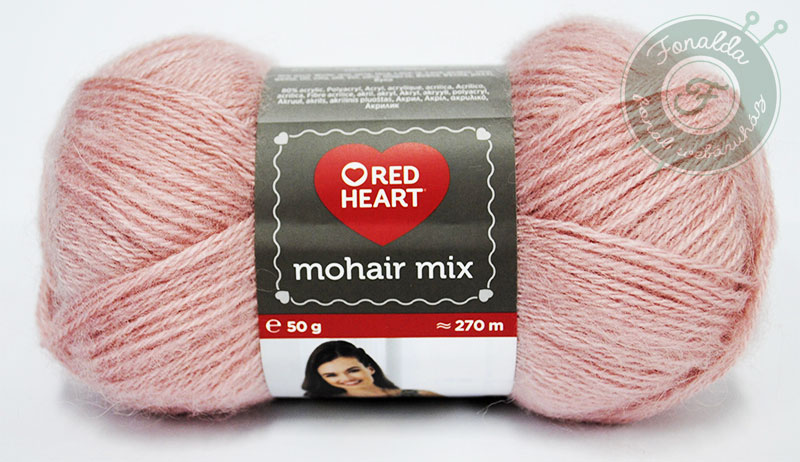 Red Heart Mohair Mix - 1251 - Pink