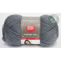 Red Heart Mohair Mix - 3468 - Sötétszürke