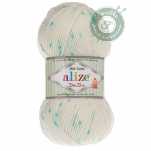 Alize Baby Best mini colors krém