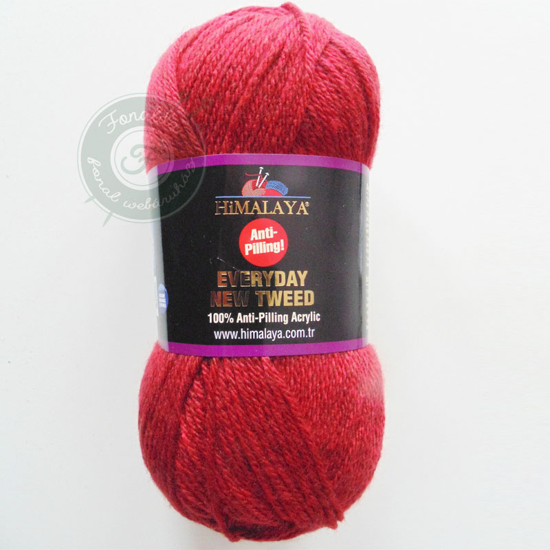Himalaya Everyday New Tweed - 75102 - Vörös