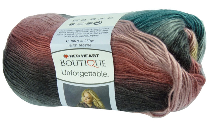 Red Heart Unforgettable 3969 - pastel