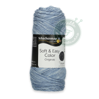 Schachenmayr Soft & Easy Color fonal - 80 - Denim