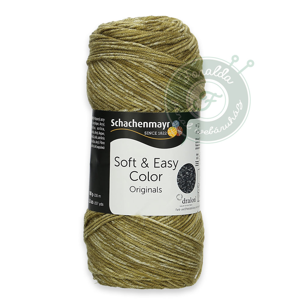 Schachenmayr Soft & Easy Color fonal - 84 - Khaki