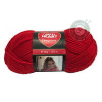 Red Heart Margareta fonal - 0533 - Piros