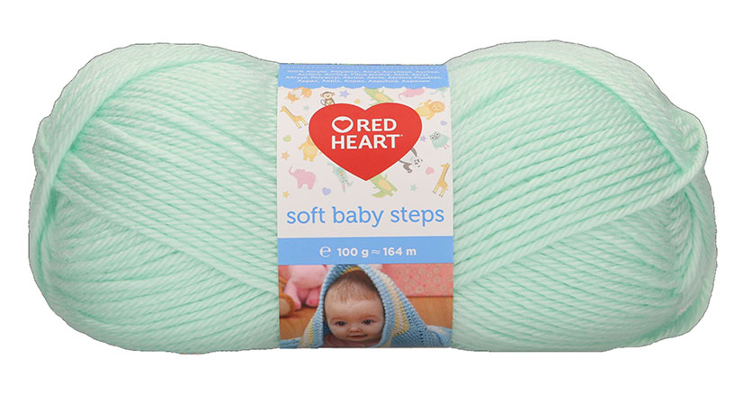 Red Heart Soft Baby Steps - 11 - Menta