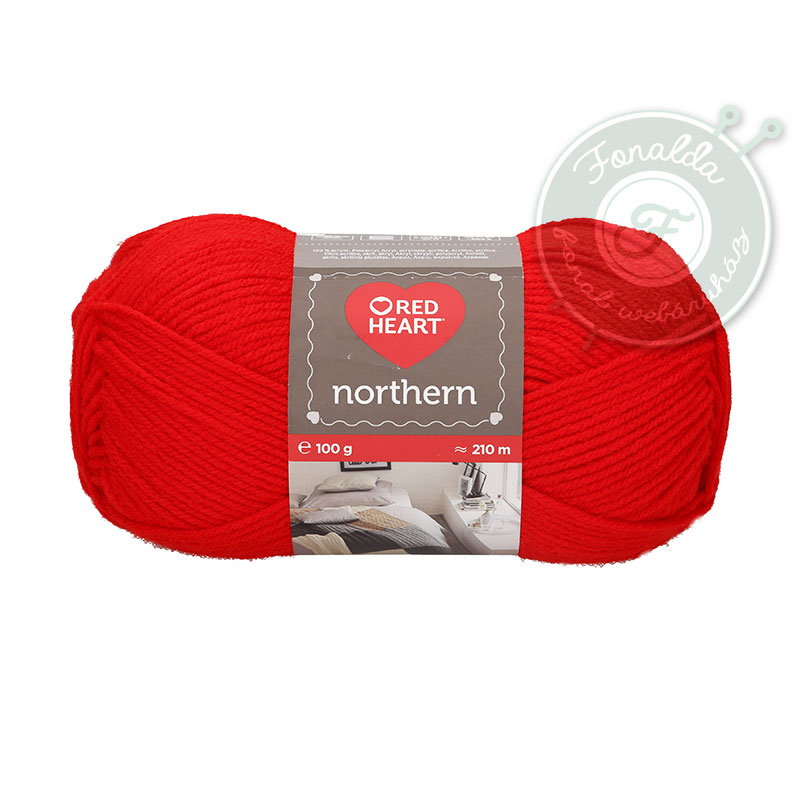 Red Heart Northern - 8211 - Piros
