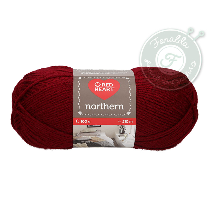 Red Heart Northern - 8220 - Burgundi