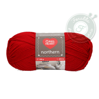 Red Heart Northern - 8237 - Sötétvörös