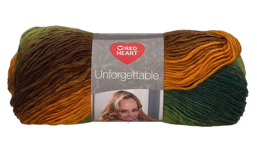 Red Heart Unforgettable 3974 - Sunflower