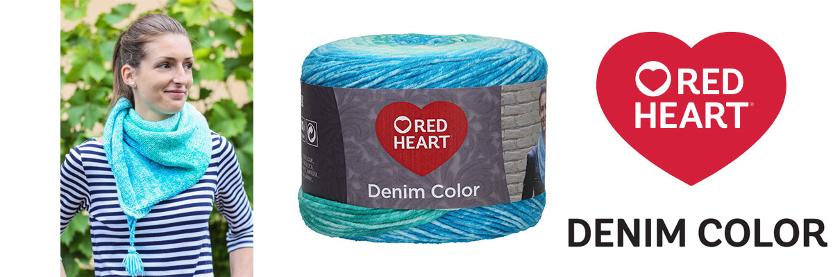 Red Heart Denim Color fonal