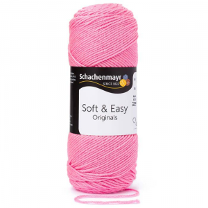 Schachenmayr Soft and Easy rózsaszín